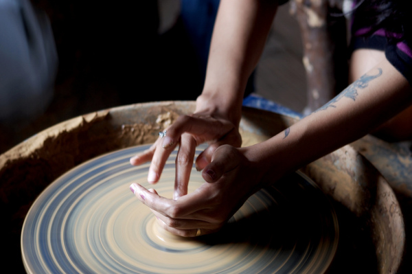Making Pot from Clay
