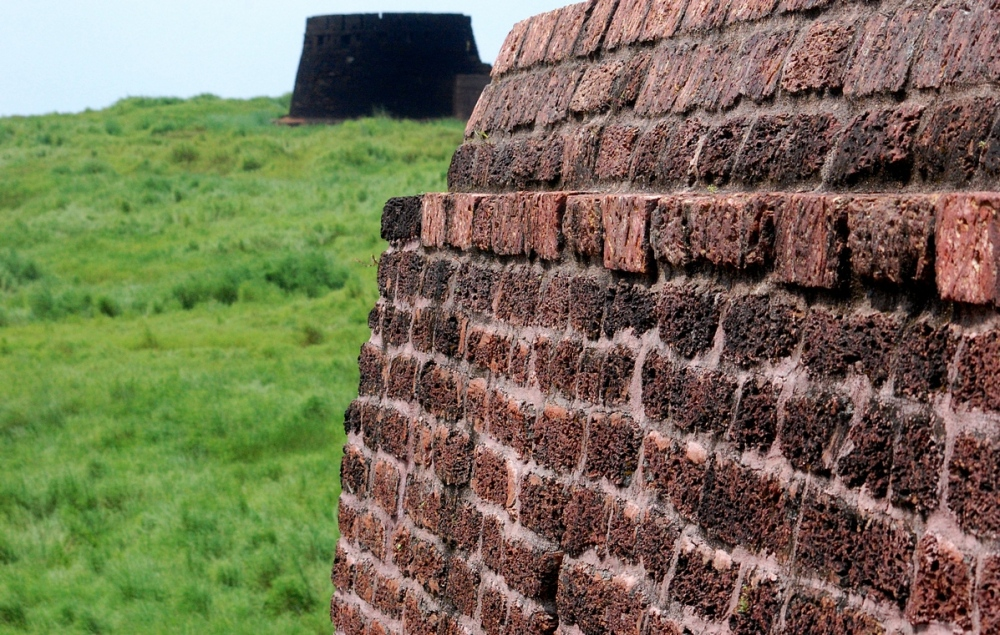 Wall of Bekal fort
