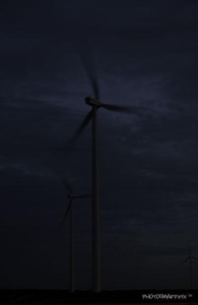 Wind at sundown