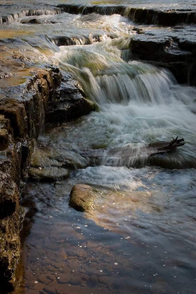 An image shot at the Lower Au Train Falls