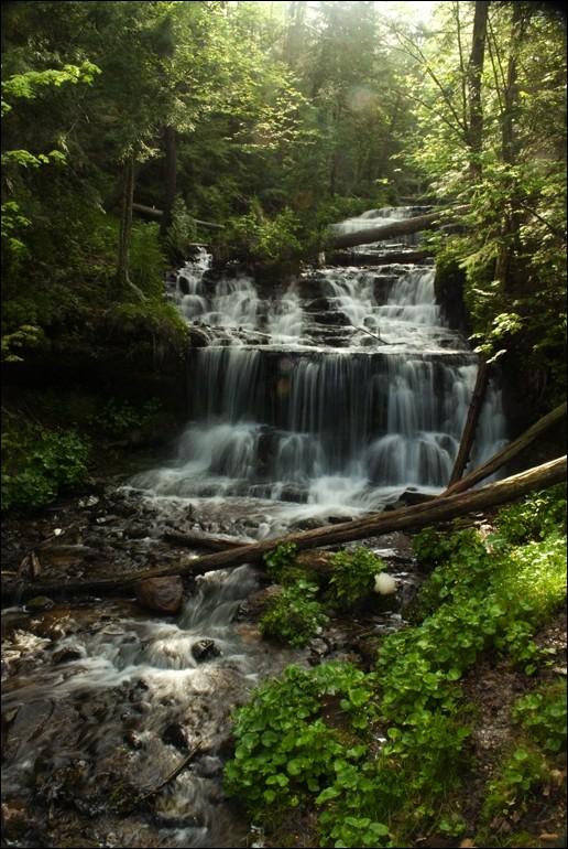 Wagner Falls, Munising MI
