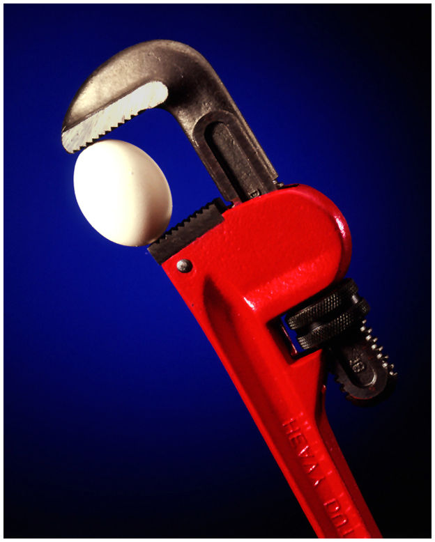 Egg and Wrench