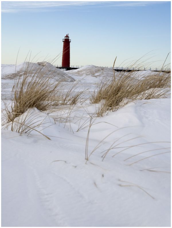 Winter Lighthouse