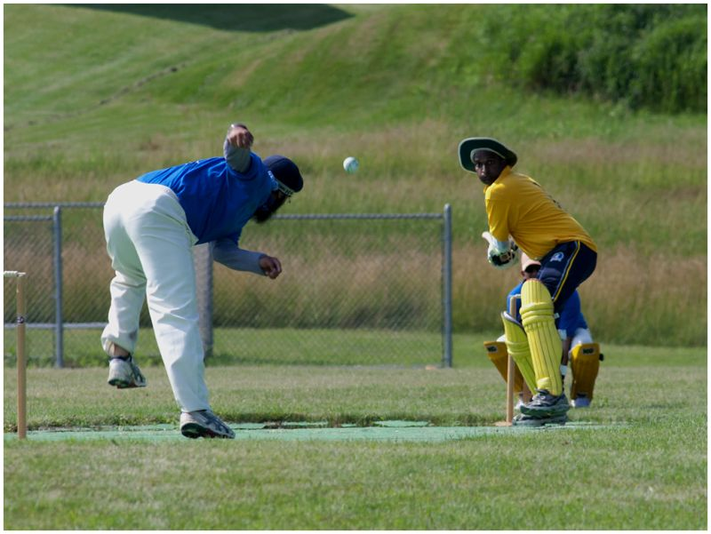 Bowler and Batter