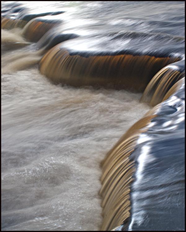 Lower Tahquamenon Falls Detail
