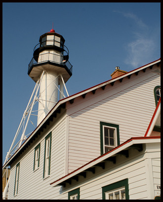 White Fish Point Light