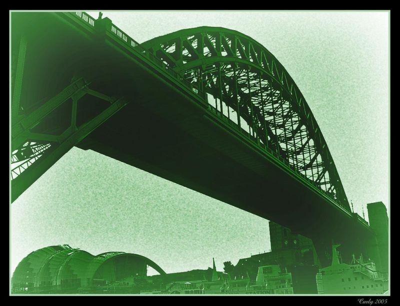 Tyne Bridge, Newcastle, the Sage, Gateshead
