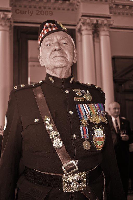 Bob, Normandy Veteran's Association, South Shields