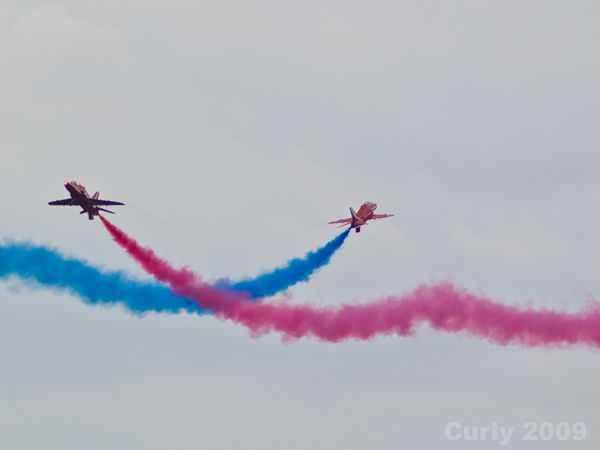 Red Arrows, Sunderland International Air Show 2009