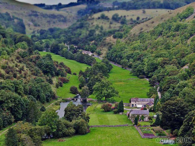 Monsal Dale, Derbyshire, UK