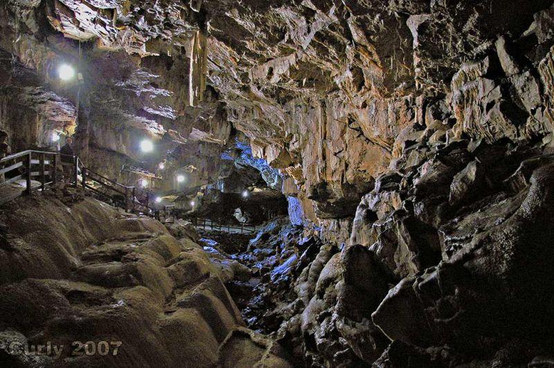 Poole's Cavern, Buxton, Derbyshire, UK