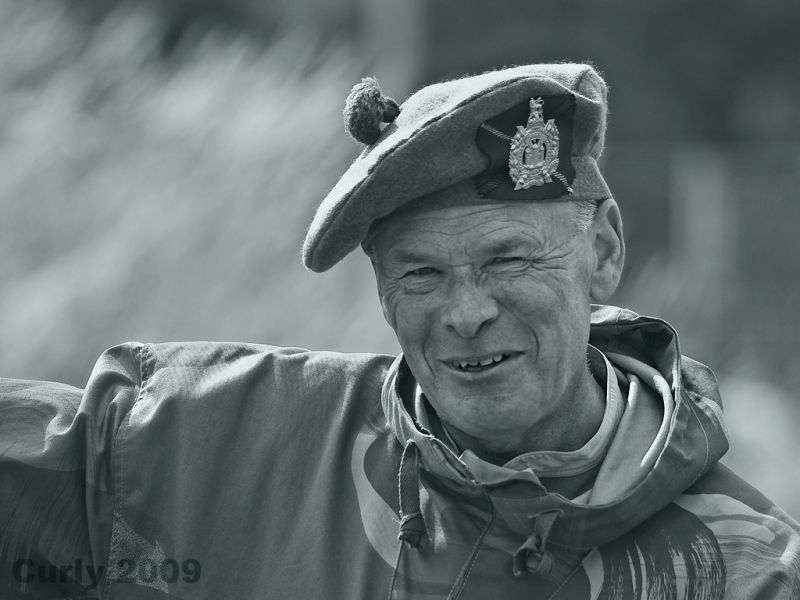 Old soldier at Arbeia Roman fort, South Shields
