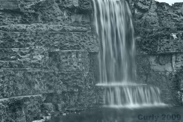 Waterfall, South Marine Park, South Shields