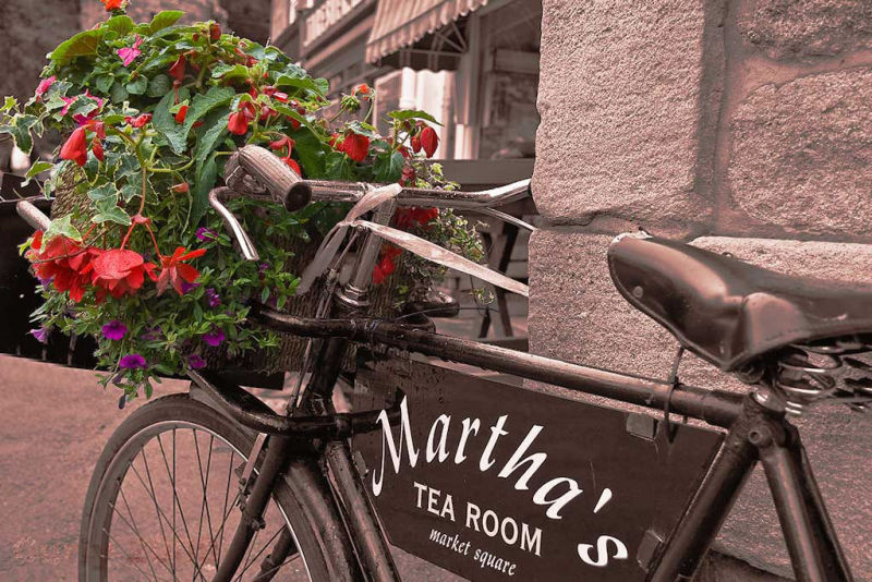 Martha's tea shop, Corbridge, Northumberland