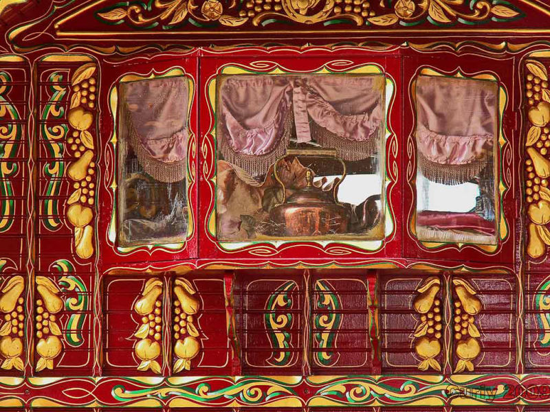 gypsy caravan in south shields