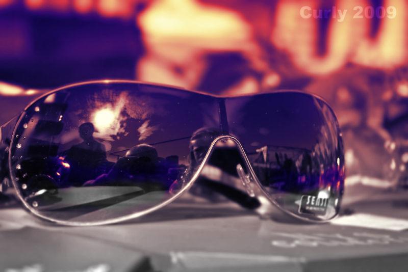 sunglasses on South Shields Market