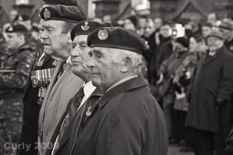 Remembrance Sunday in South Shields