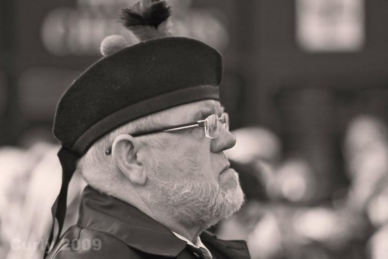 Veteran on Remembrance Sunday, South Shields