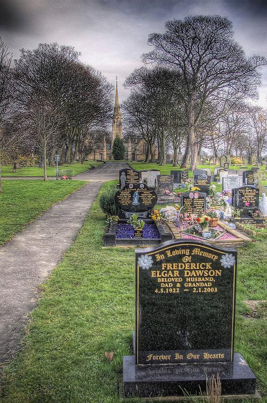 Harton cemetery, South Shields