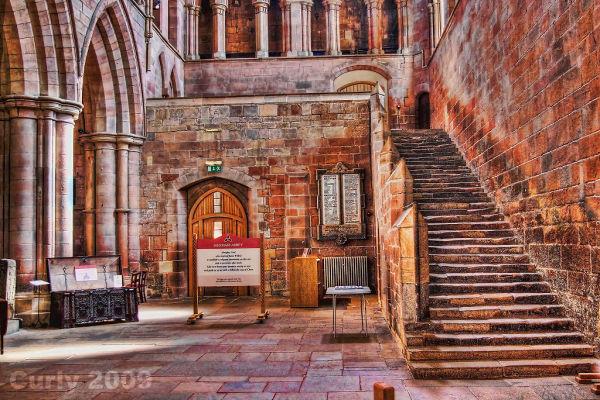Hexham Abbey, Northumberland.