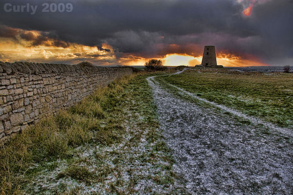 Sunrise, Cleadon Hill, South Shields