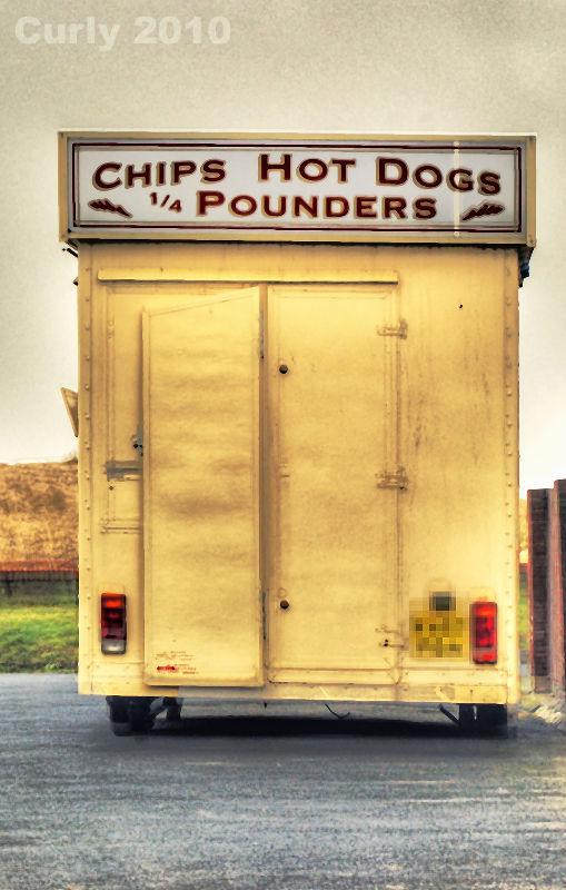 Burger van, South Shields