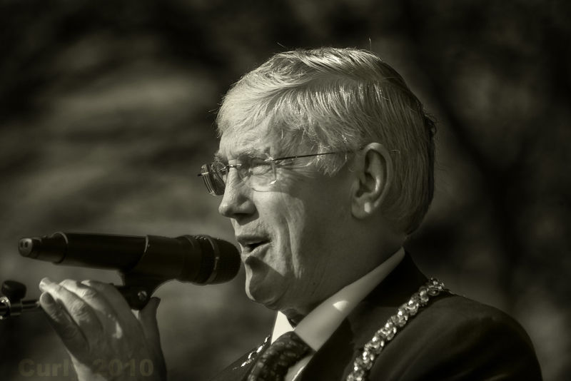 Mayor of South Tyneside, John Anglin,