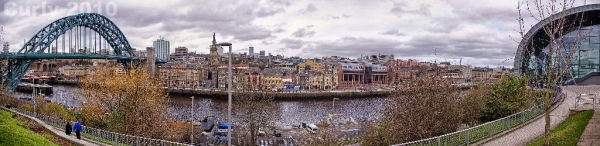 Newcastle upon Tyne panorama