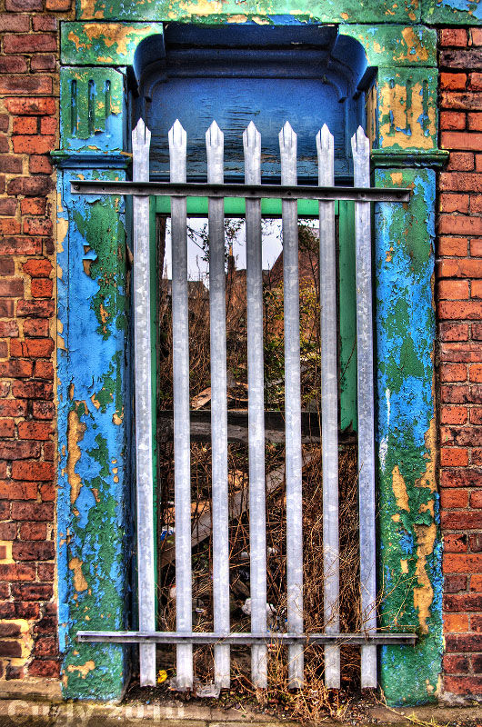 Gate near St. Benedicts Church, Sunderland