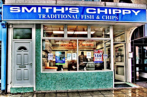 Smith's chippy South Shields