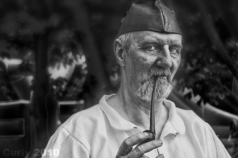 Man at Medieval Fayre, Jarrow
