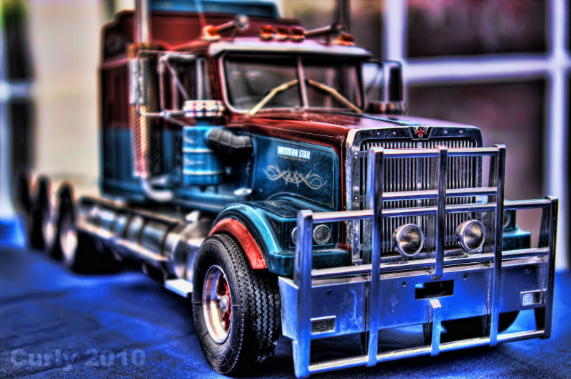 Model Truck, Tyne Tees Run 2010