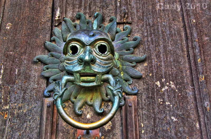 Sanctuary knocker, Durham Cathedral