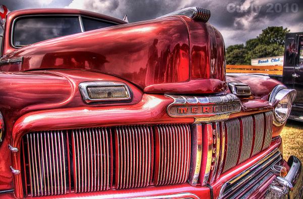 Mercury car, Bents Park, South Shields