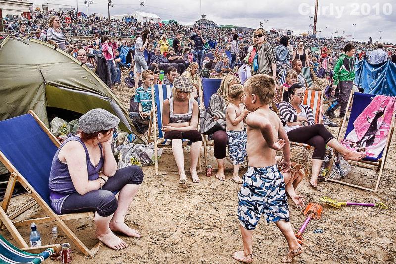 Seaburn beach, Sunderland