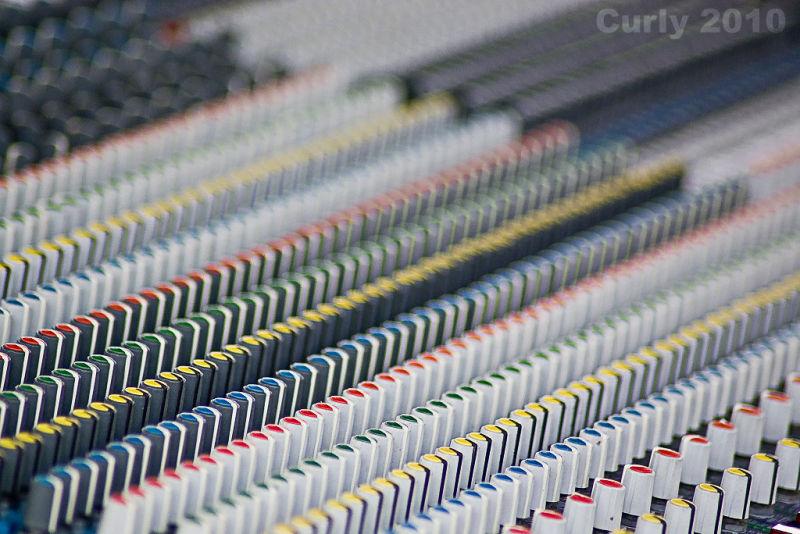 Mixing desk Bents Park, South Shields