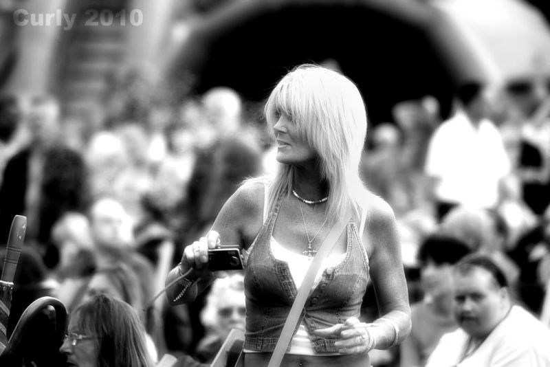 Concert in Bents Park, South Shields
