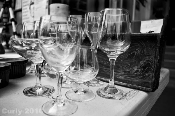 Glassware at Whitby