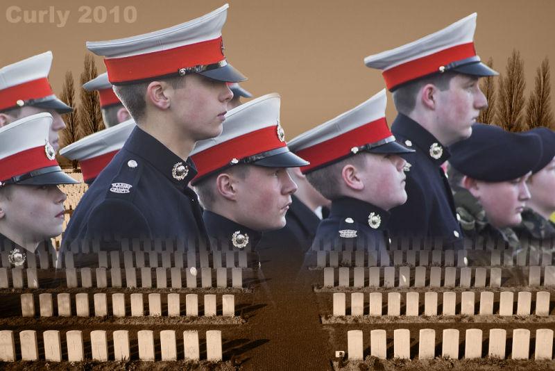 Remembrance Sunday, South Shields 2010