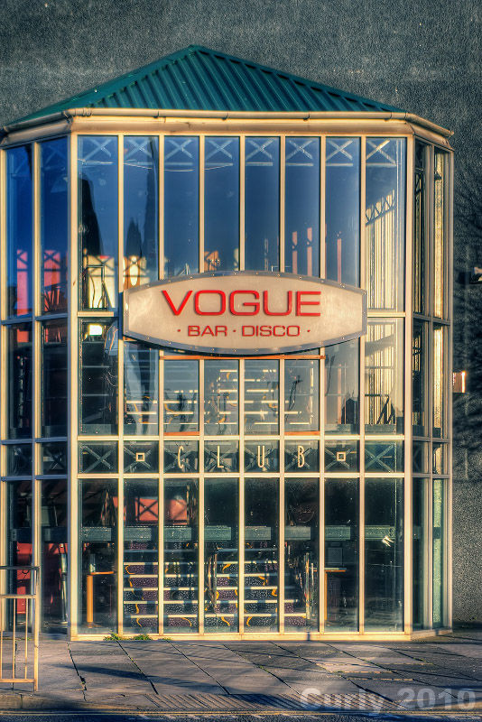 Vogue night club, south shields