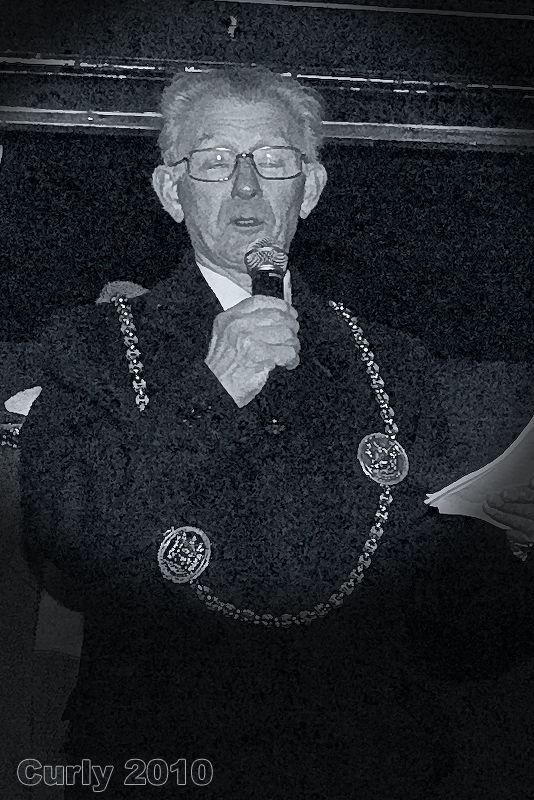 The Mayor of South Tyneside Cllr. Tom Piggott