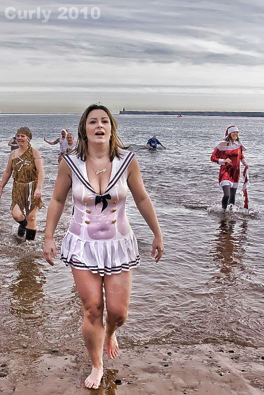 Boxing Day Dip 2010, South Shields