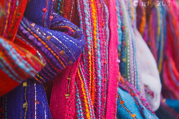 Scarves, South Shields market