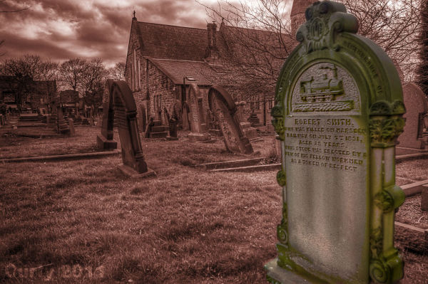 St. Peters church Harton, South Shields