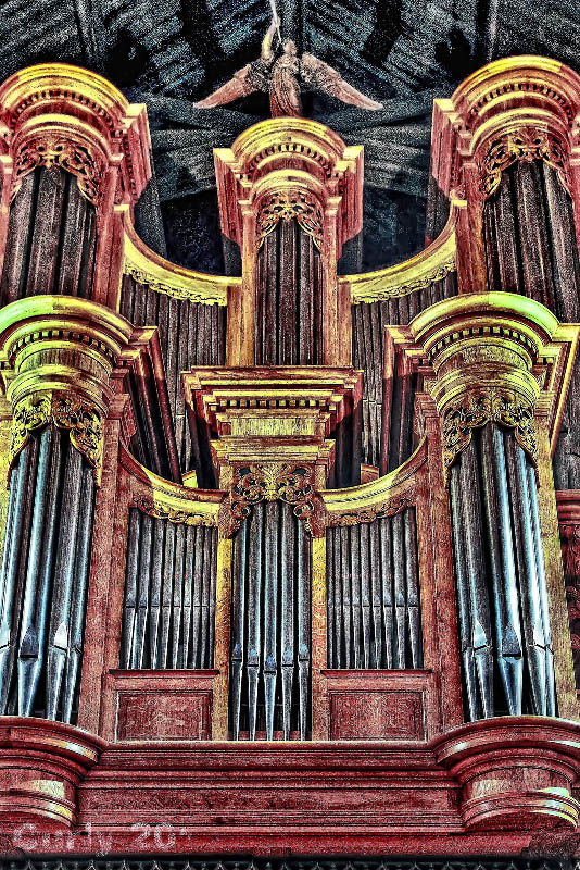 Organ, St. Michaels Church, South Shields
