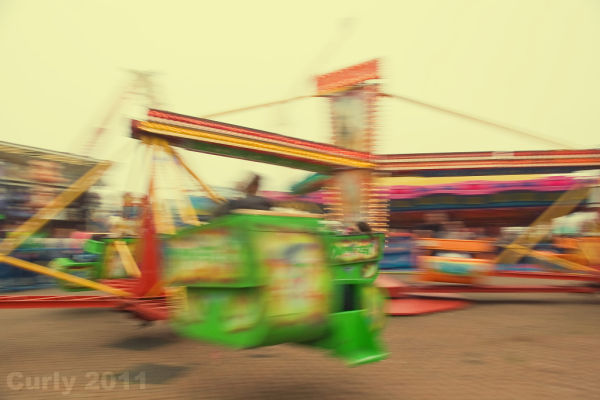 Fairground, Good Friday, South Shields