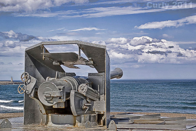 Coastal defence gun, South Shields