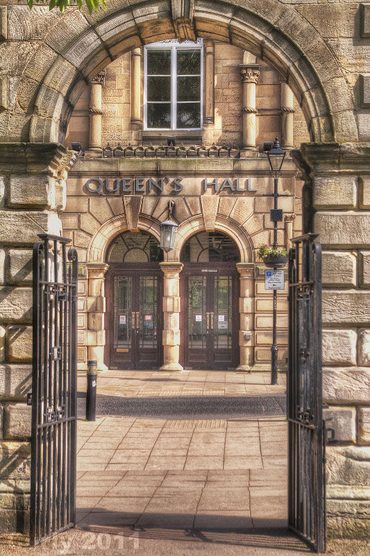 Queens Hall theatre Hexham, Northumberland