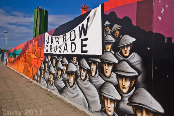 Street art, Jarrow