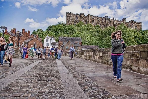 Durham Castle from Silver Street